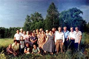 Рязанская обл., Михайловский р-он., село Старое Киркино 13 июля 1996 года.